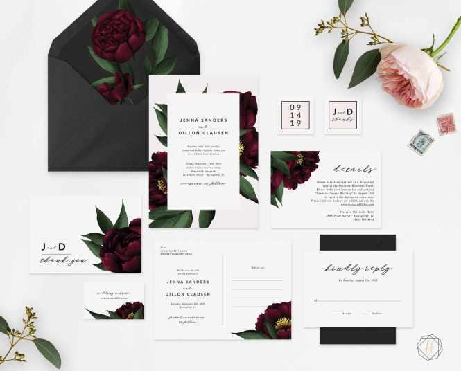 10 Printable Wedding Invitations From Etsy
