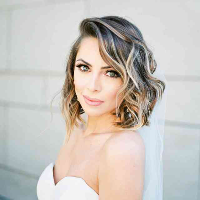 17 wedding hairstyles for medium length hair