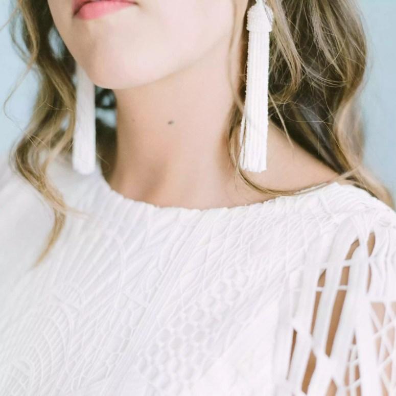 <p>BRide's earrings</p><br><br>