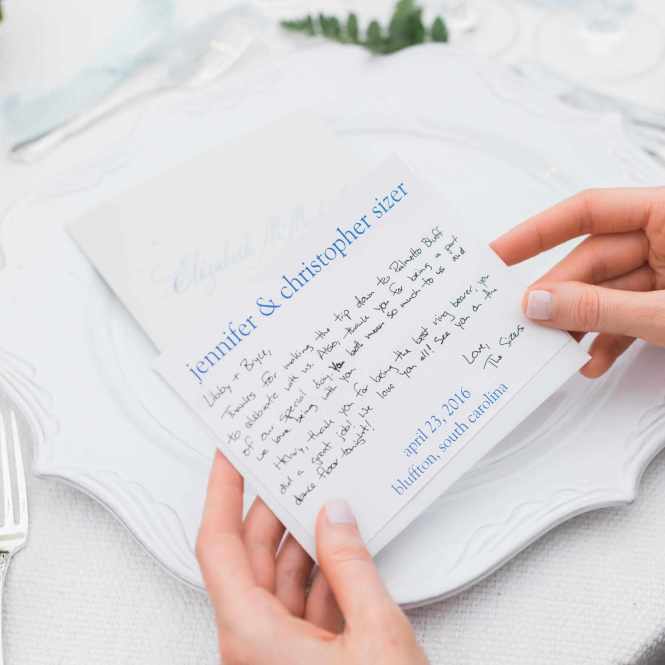 Wedding Thank You Card Wording How To Write A Note