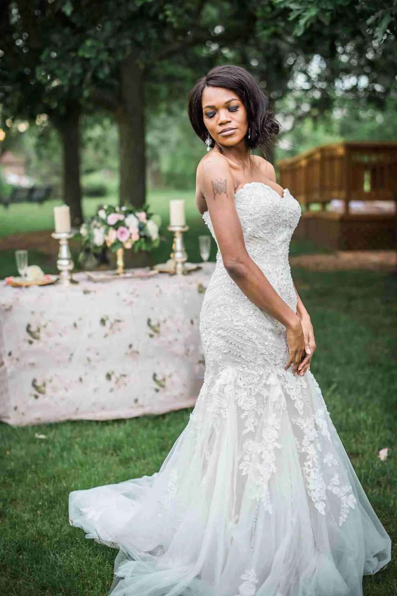 Mermaid Wedding Dress By Brides Amp Tailor