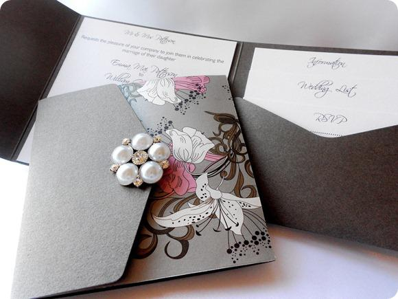 Ca0739 Luxury Royal Gatefold Silk Box Wedding Invitation China