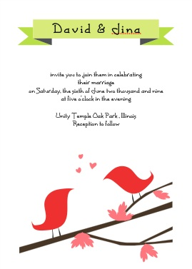 Wedding Invitation Wording Friends Card Ideas