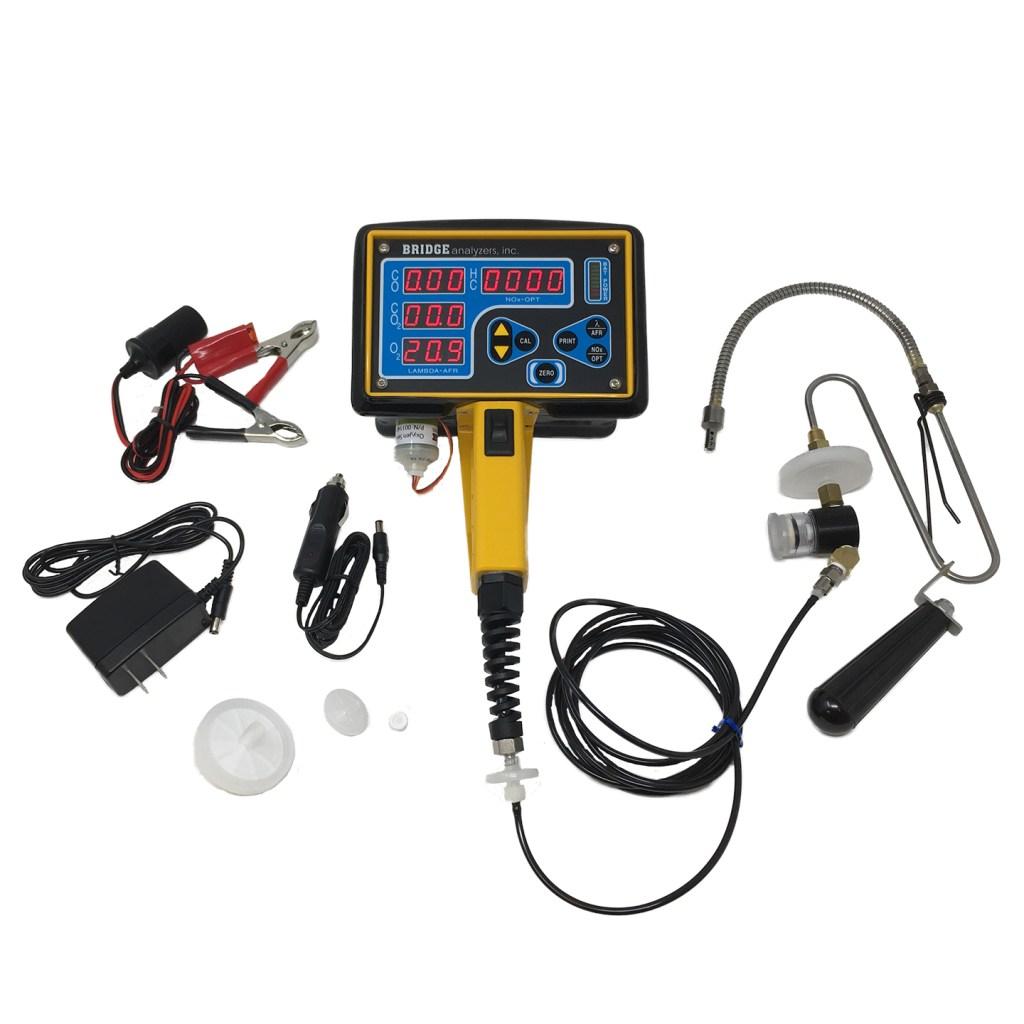 exhaust gas analyzer (EGA)