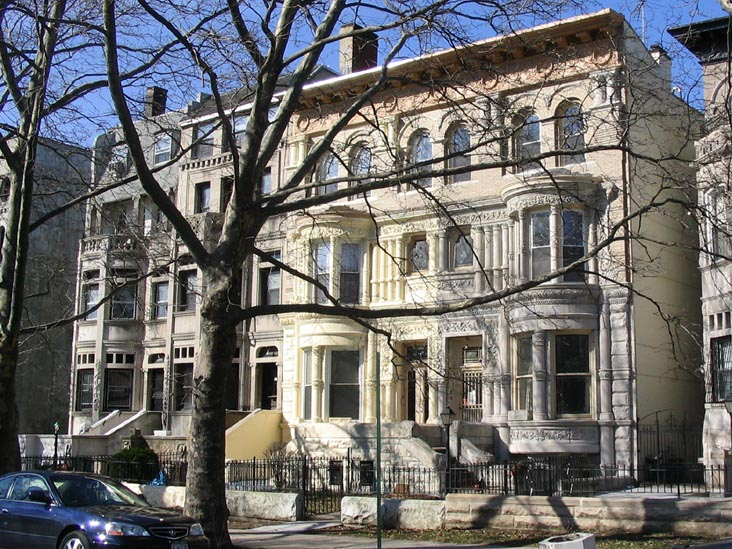 St. Marks Avenue in Crown Heights - one of the more historic blocks in the area
