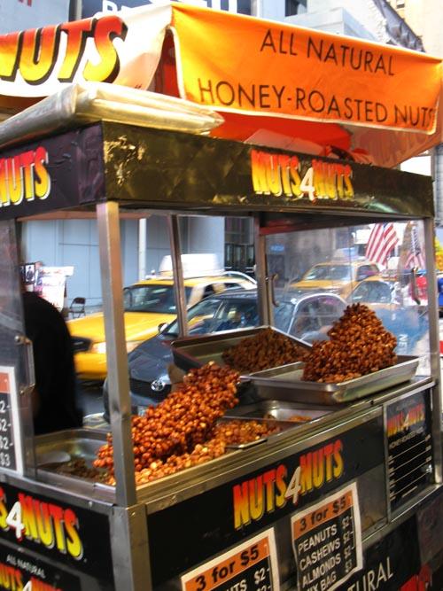 New York City Feed Nuts 4 Nuts Carts
