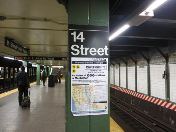 14th Street-Union Square Subway Station, Manhattan