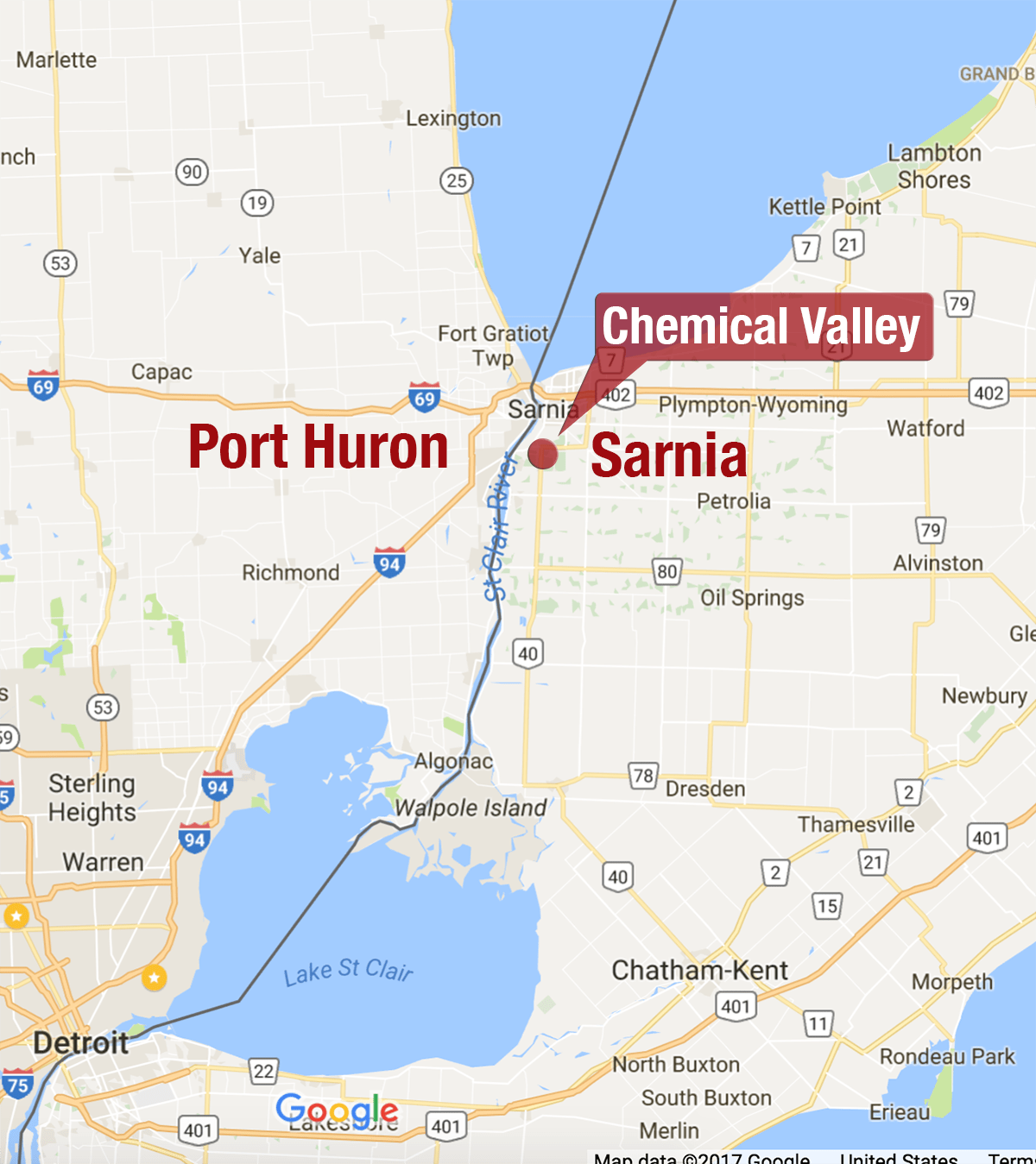 Chemical Valley And The Threat To Michigan S Drinking