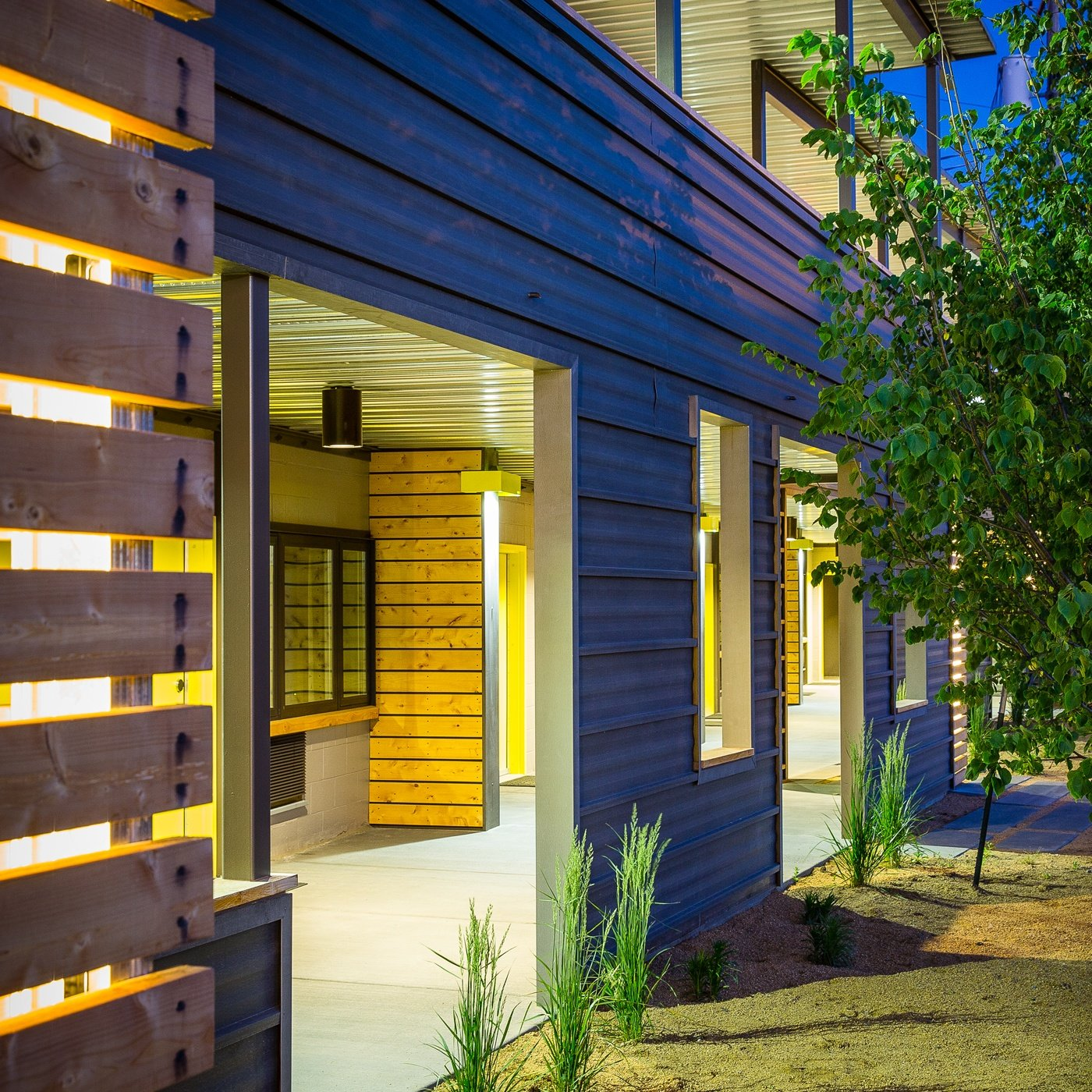 Metal Siding - Panels for Exterior and Interior Walls on Modern Siding  id=58843