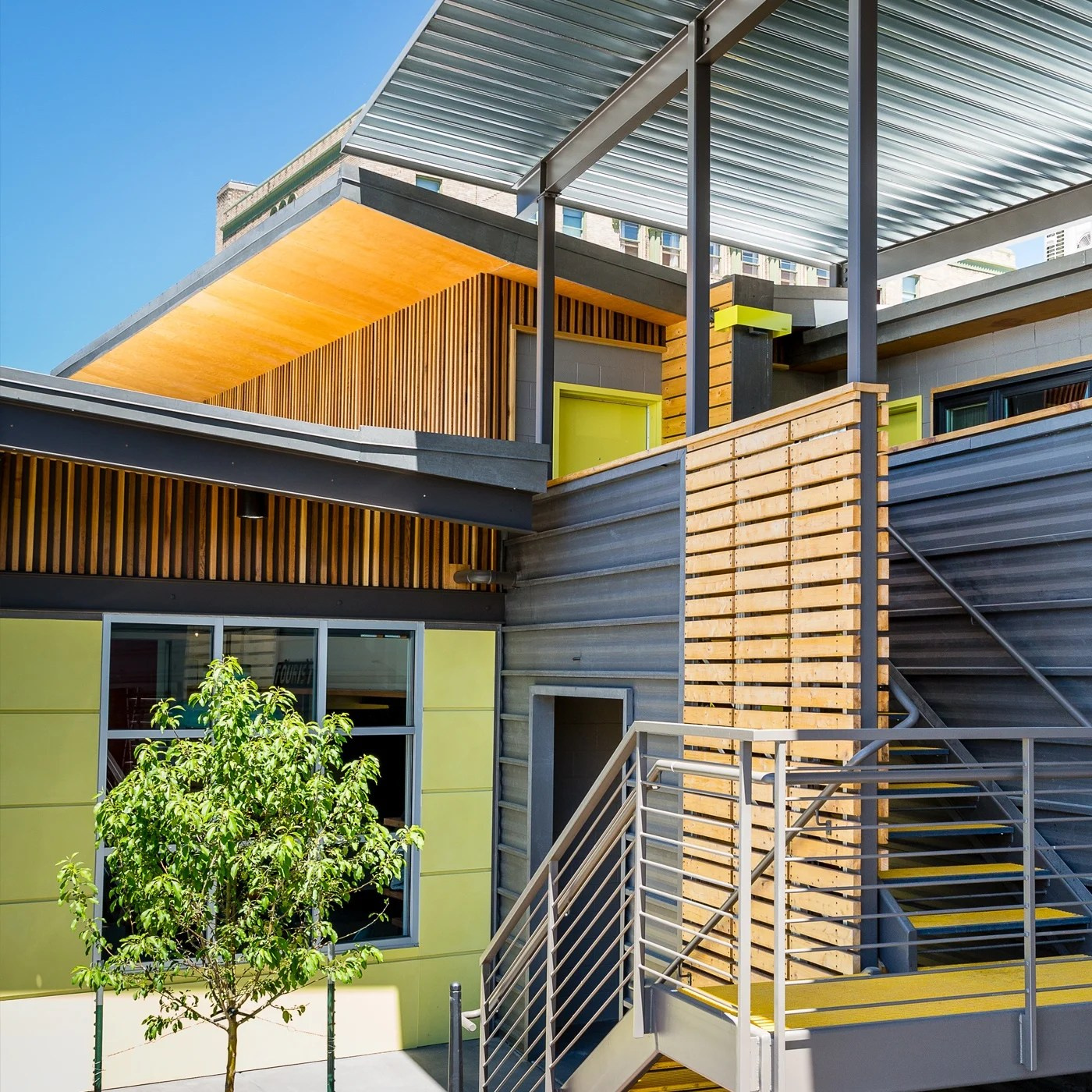 Metal Siding - Panels for Exterior and Interior Walls on Modern Siding  id=94450