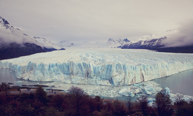 The great Perito Moreno glacier