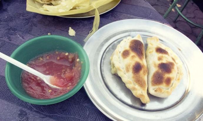 Empanadas at the Patio de Empanadas, Salta