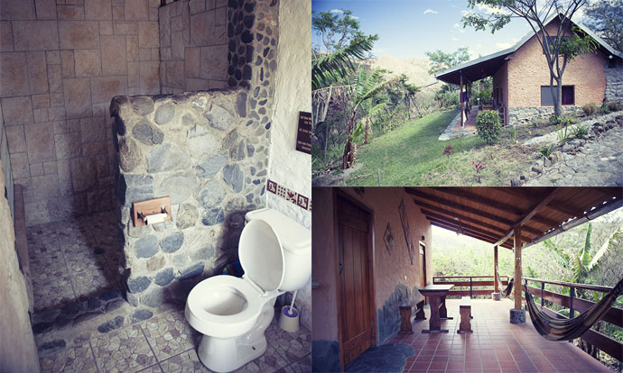 Accommodations at Izhcayluma Vilcabamba Ecuador