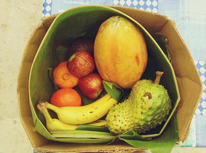 Fruit for yoga