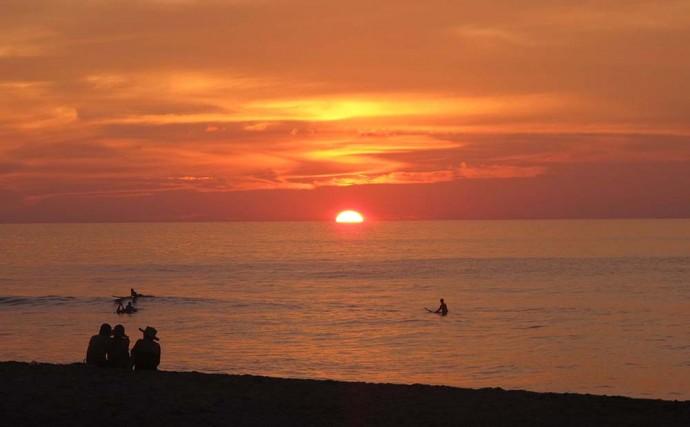 Sunset at San Pancho