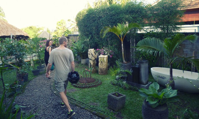Going to the Sang spa in Ubud