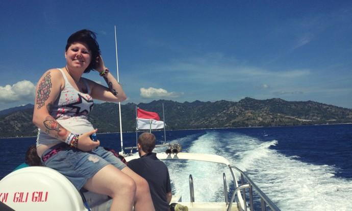 Sailing to the Gilis