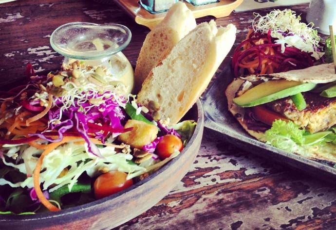 Food at Kafe Ubud
