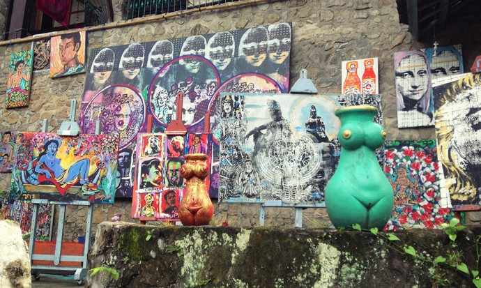 Gallery in Ubud