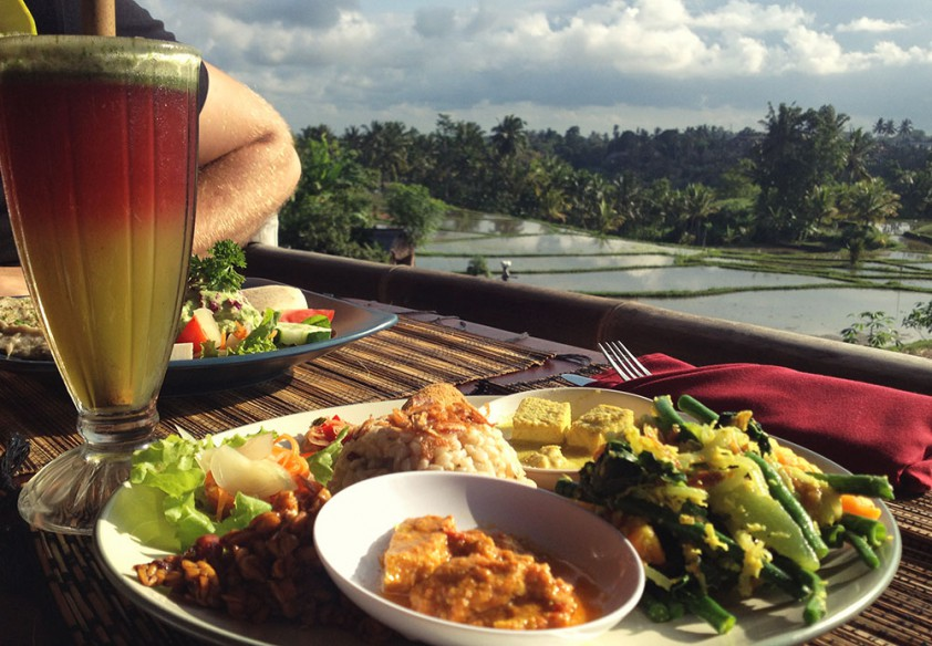 Sari Organik is one of Ubud's best vegetarian restaurants