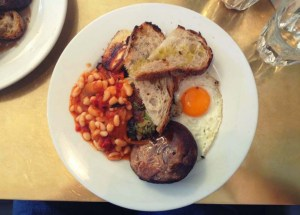 egetarian English Breakfast