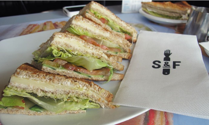 Sandwich and Friends Bernie sandwich