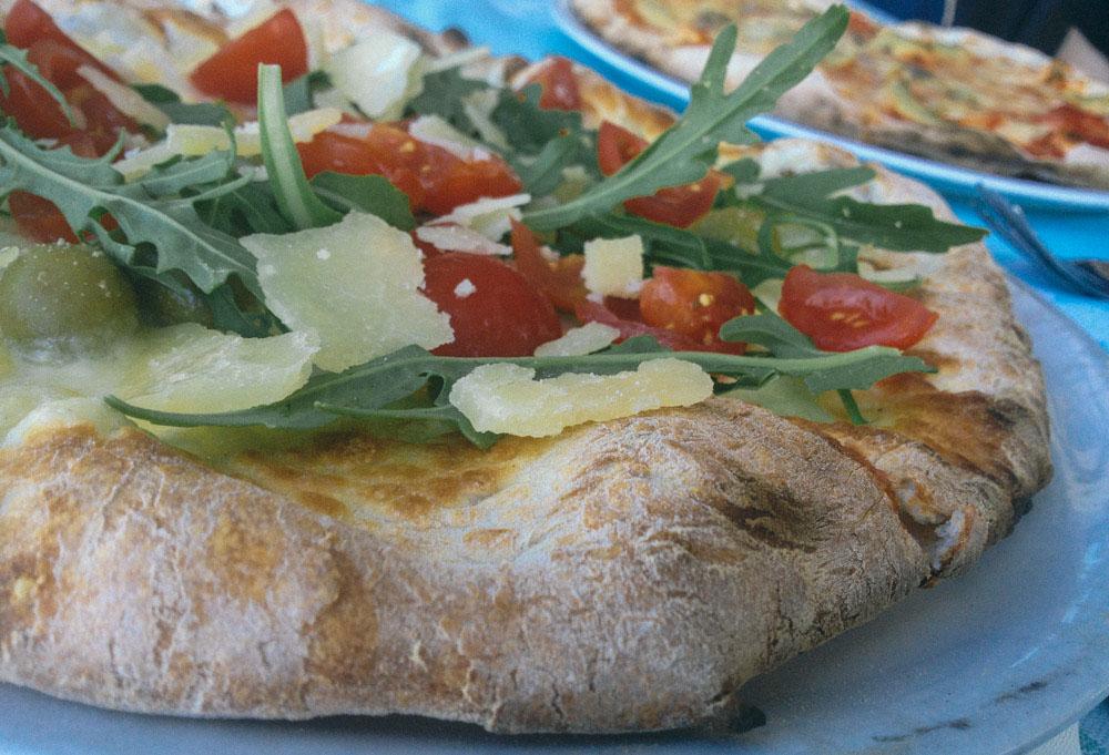 Pizza in Otranto