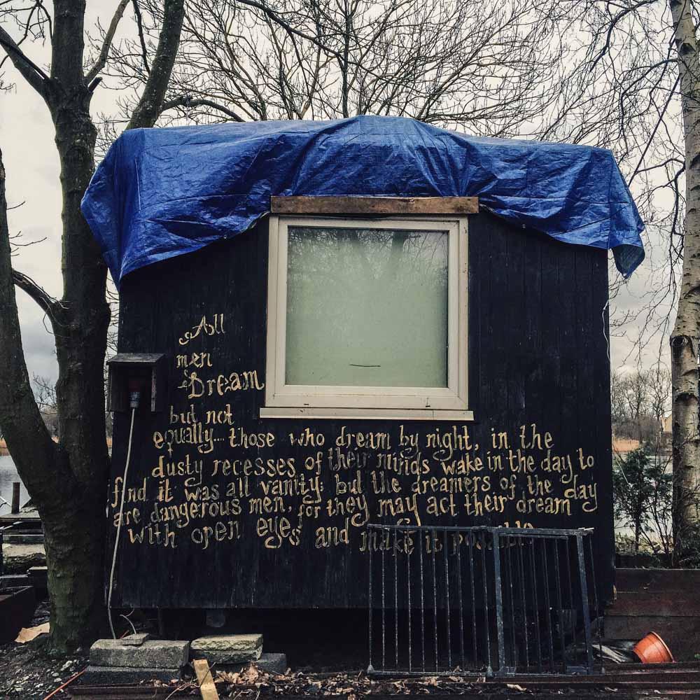Cabin in Christiana, Copenhagen