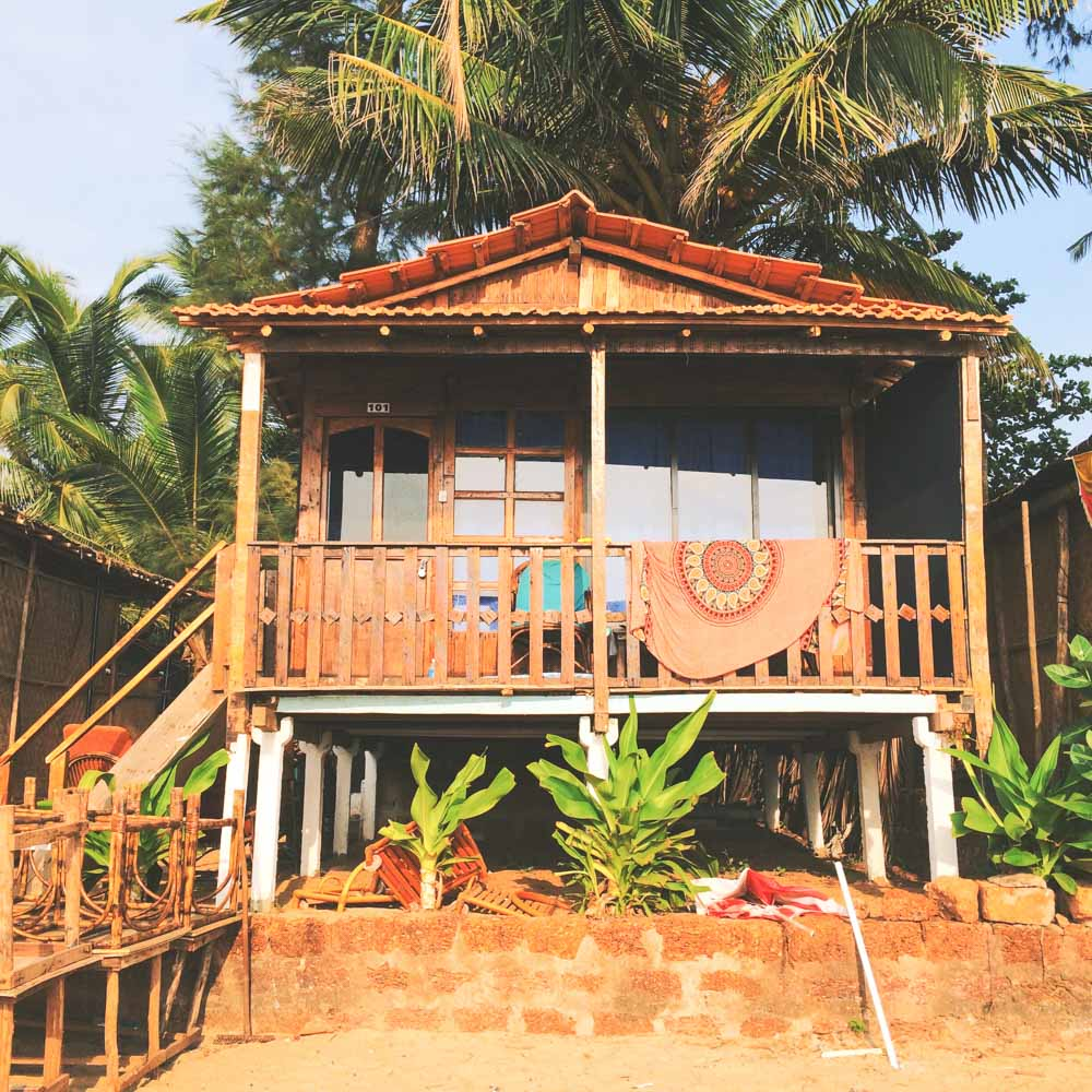 Om Shanti beach bungalow, Patnem Beach