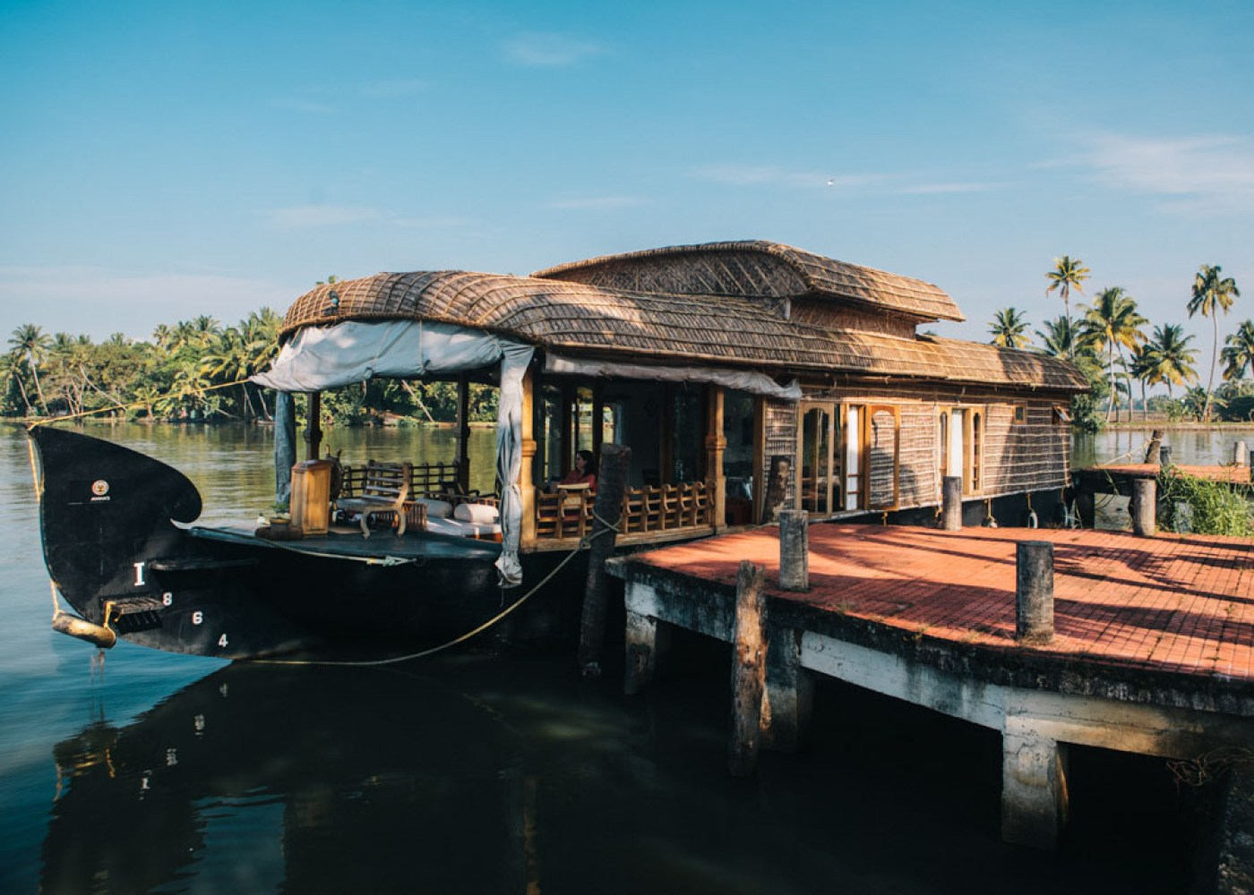 The best houseboat in Alleppey