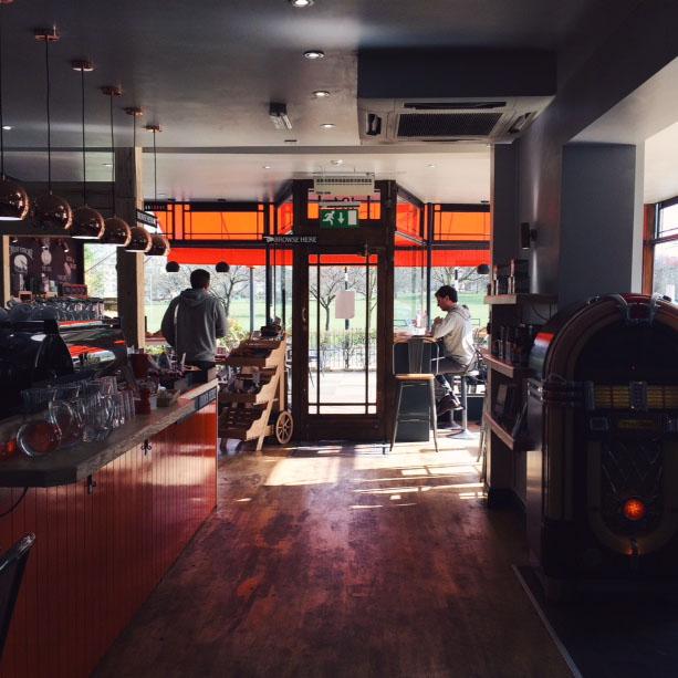 Cafe G, Peckham Rye, London