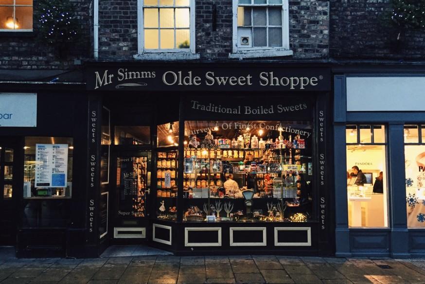 Olde Sweet Shoppe in Yorkshire