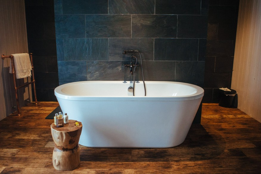 Best bathtub for glamping in Yorkshire
