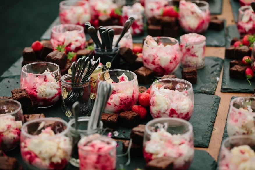 Wedding dessert by Fee Turner Cornwal