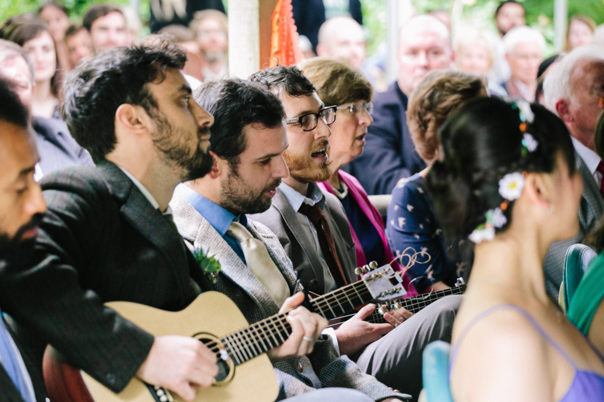 Singing bridges and Balloons at our wedding