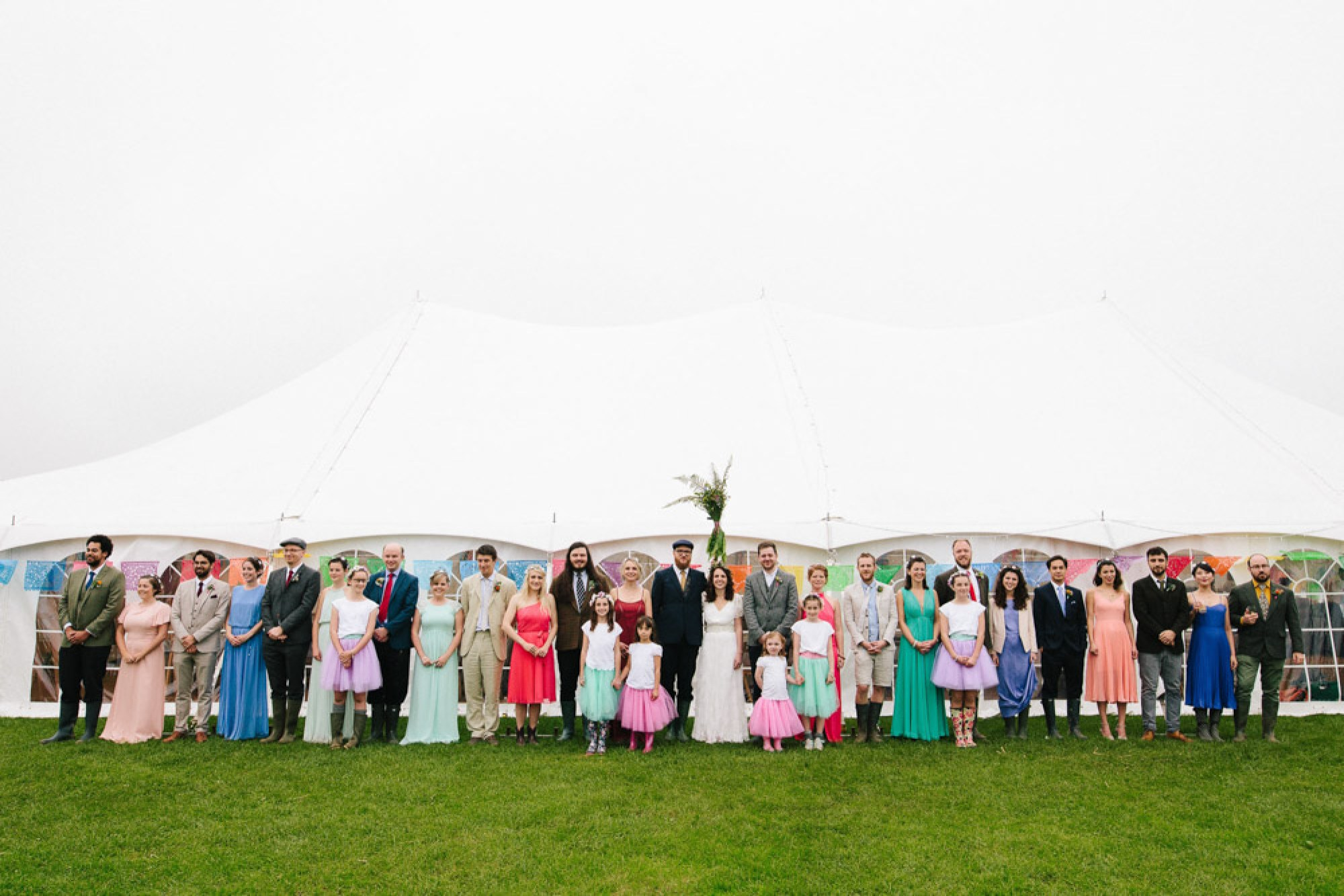 The biggest wedding party ever