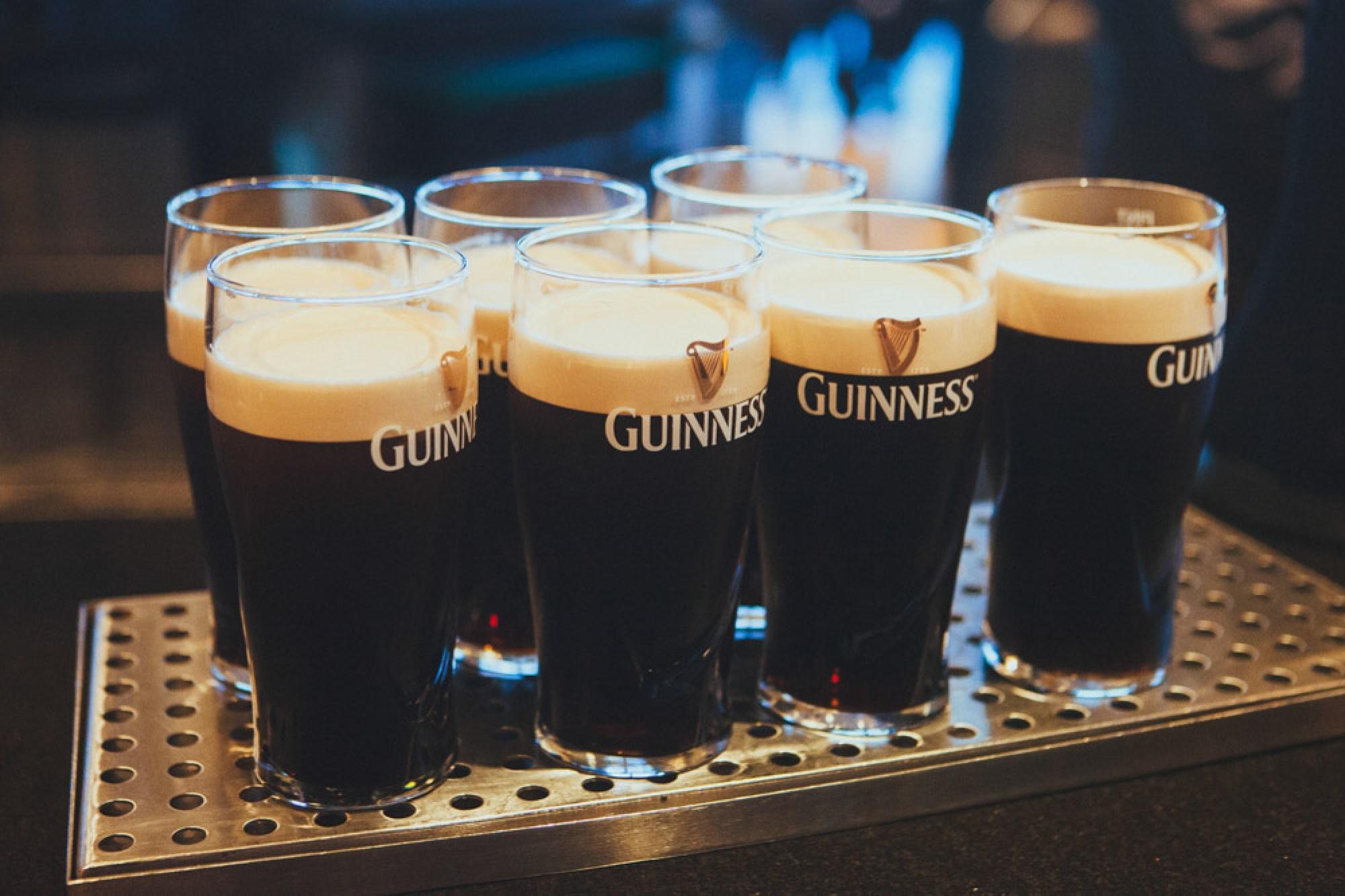 Guinness in Dublin