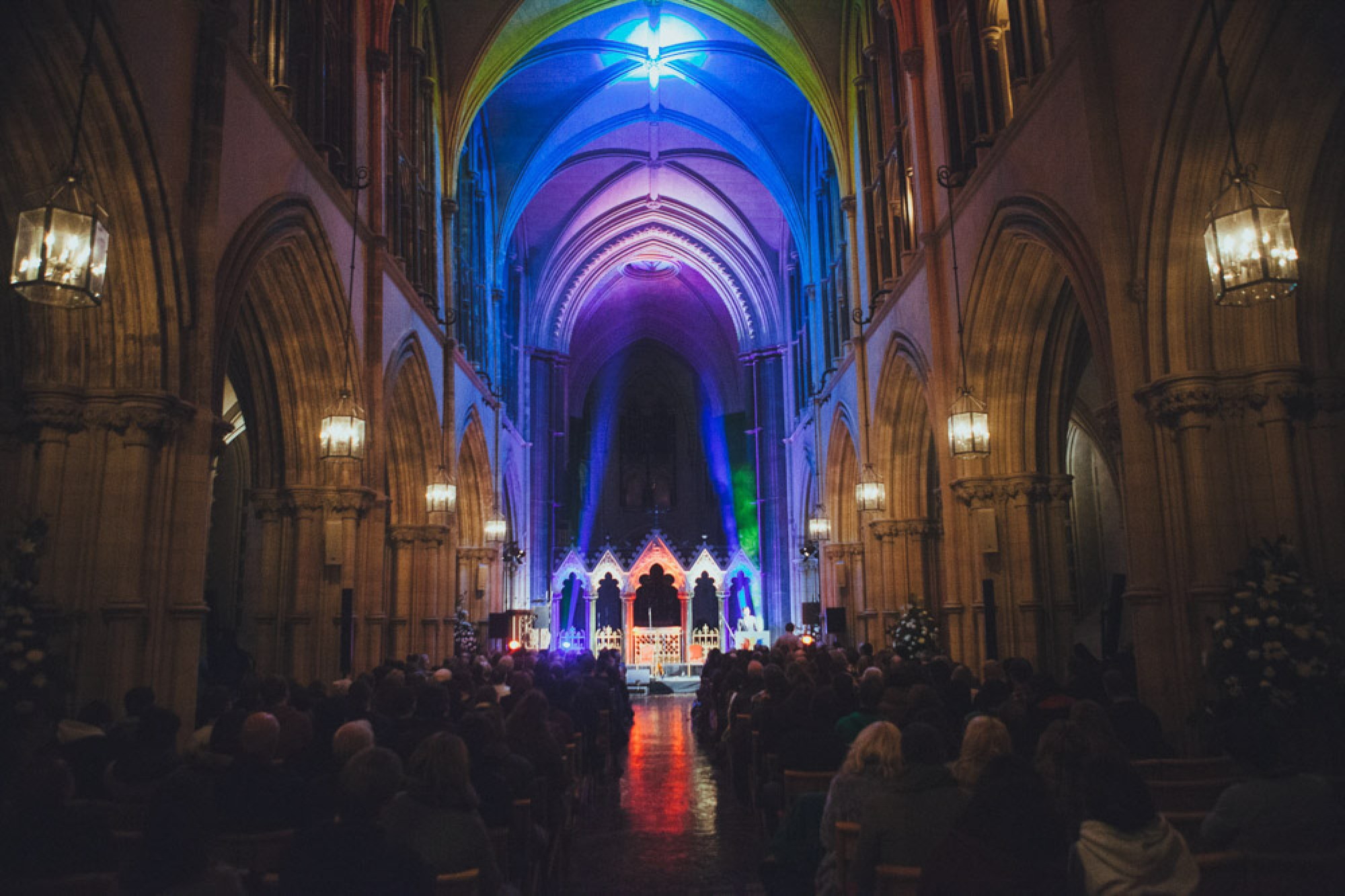Proclamation, First Fortnight, Dublin at St Patrick's Cathedral