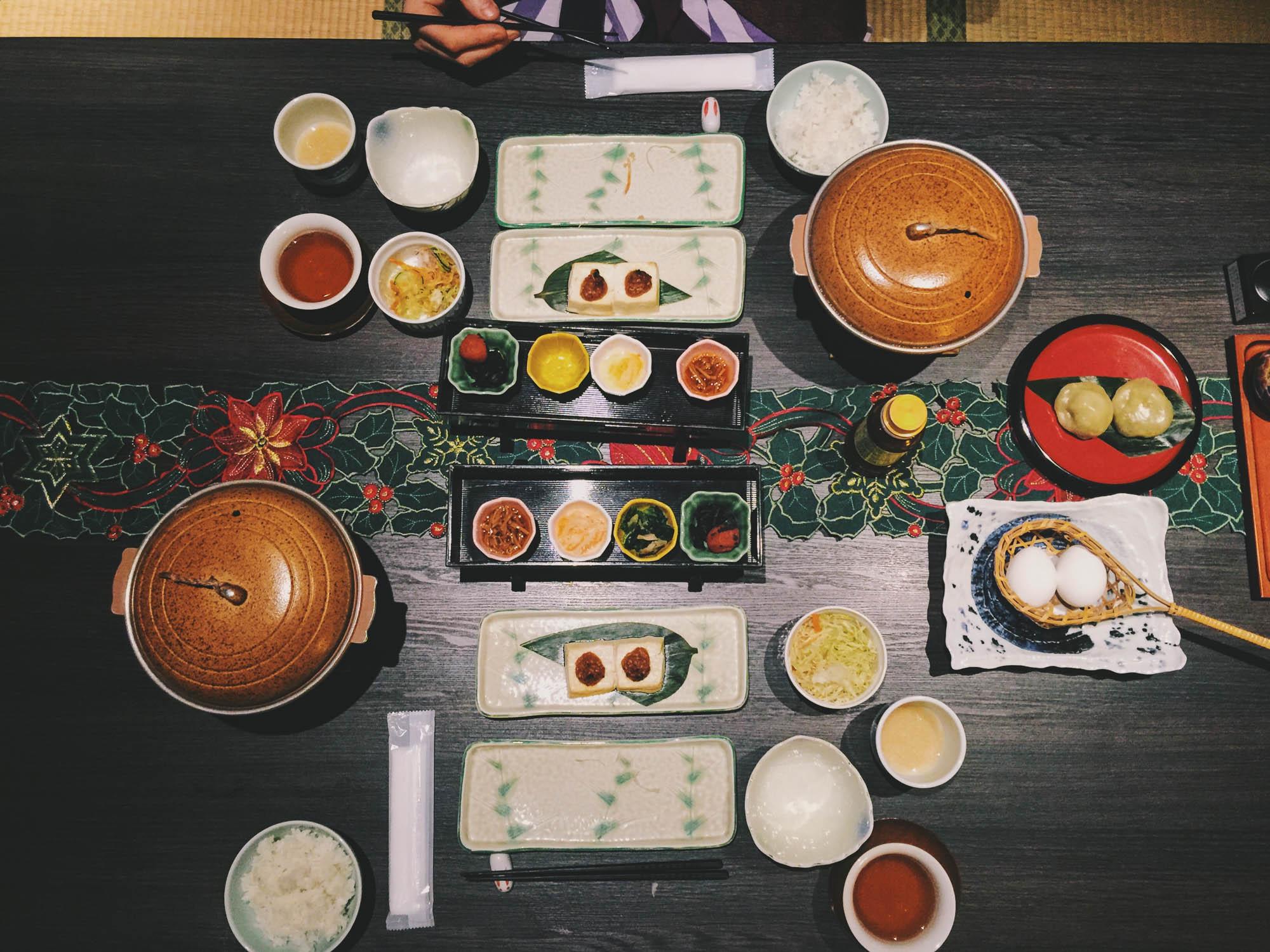 Japan itinerary - shibu onsen food