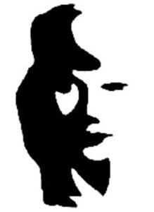 musician or girl's face?