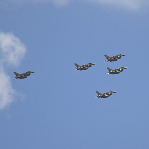 Second Series of Air Strikes in 24 Hours Pummels Iranian Targets in Syria - Bridges for Peace
