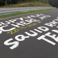 The swirling confusion of the Nürburgring's graffiti