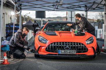 An AMG Black Series allows itself to be touched only by mechanics that it trusts