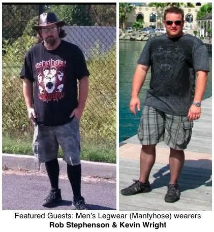 Can men wear pantyhose?