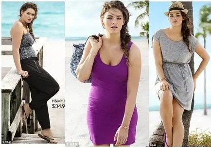 H&M's Groundbreaking Approach to Plus-Size Swimwear Gives ...