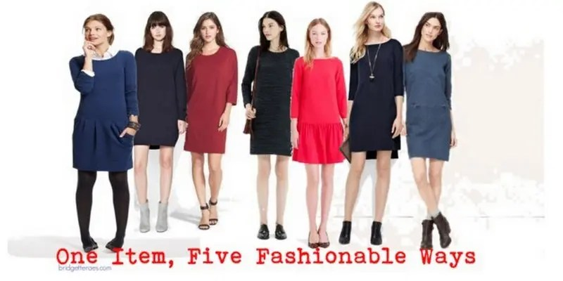 How to Wear Easy Shift Dresses This Fall - Bridgette Raes Style Expert