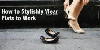 wear flats to work