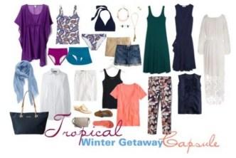getaway wardrobe capsule