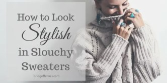 slouchy sweaters