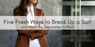 break up a suit